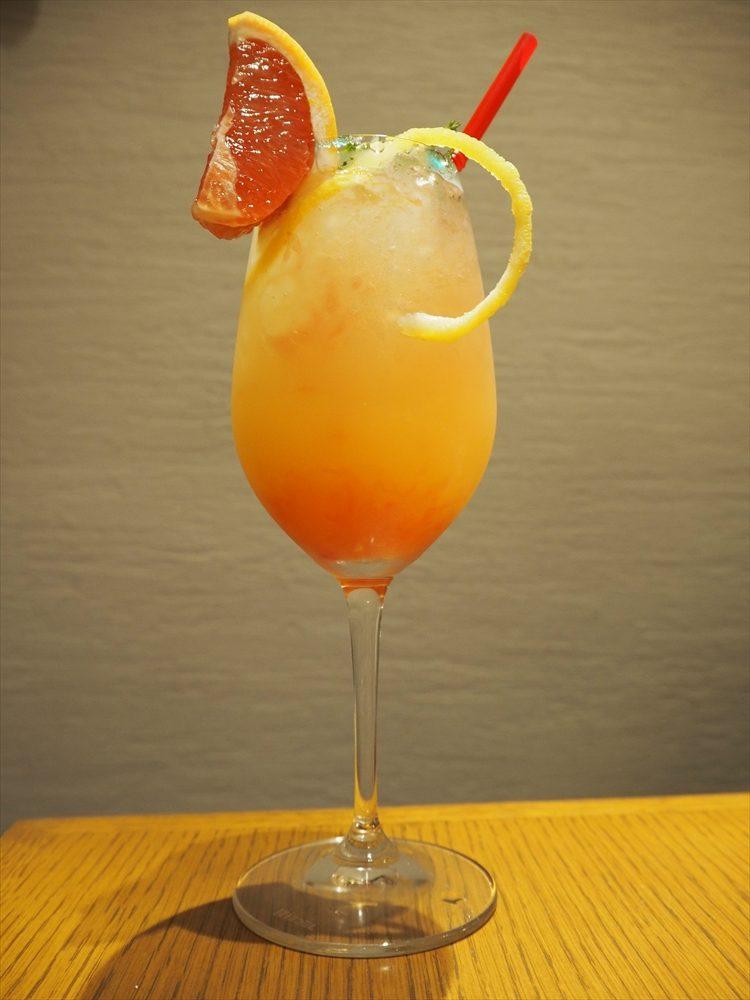 手作りのフルーツカクテル!柑橘系