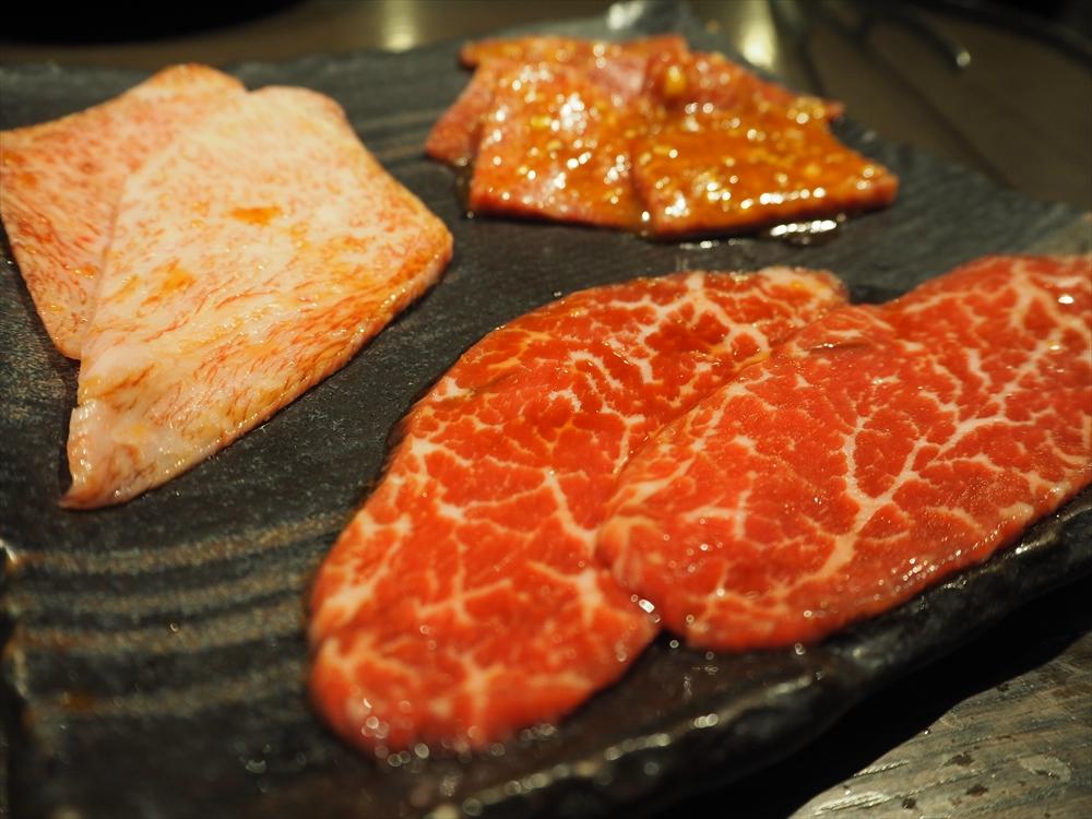 タレ・味噌で食べる和牛赤身